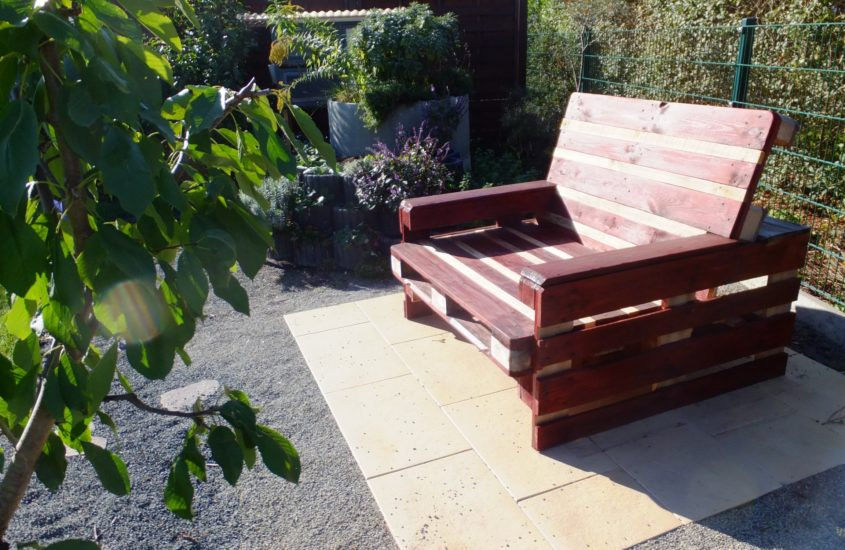 Lounge-Sessel für die gemütliche Gartenecke