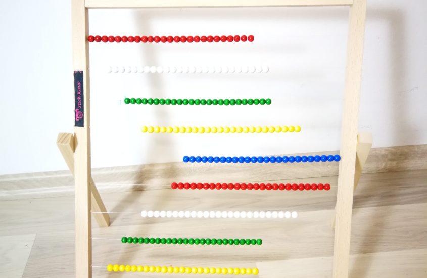 DIY Abakus – Mein Rechenschieber schnell selbstgemacht