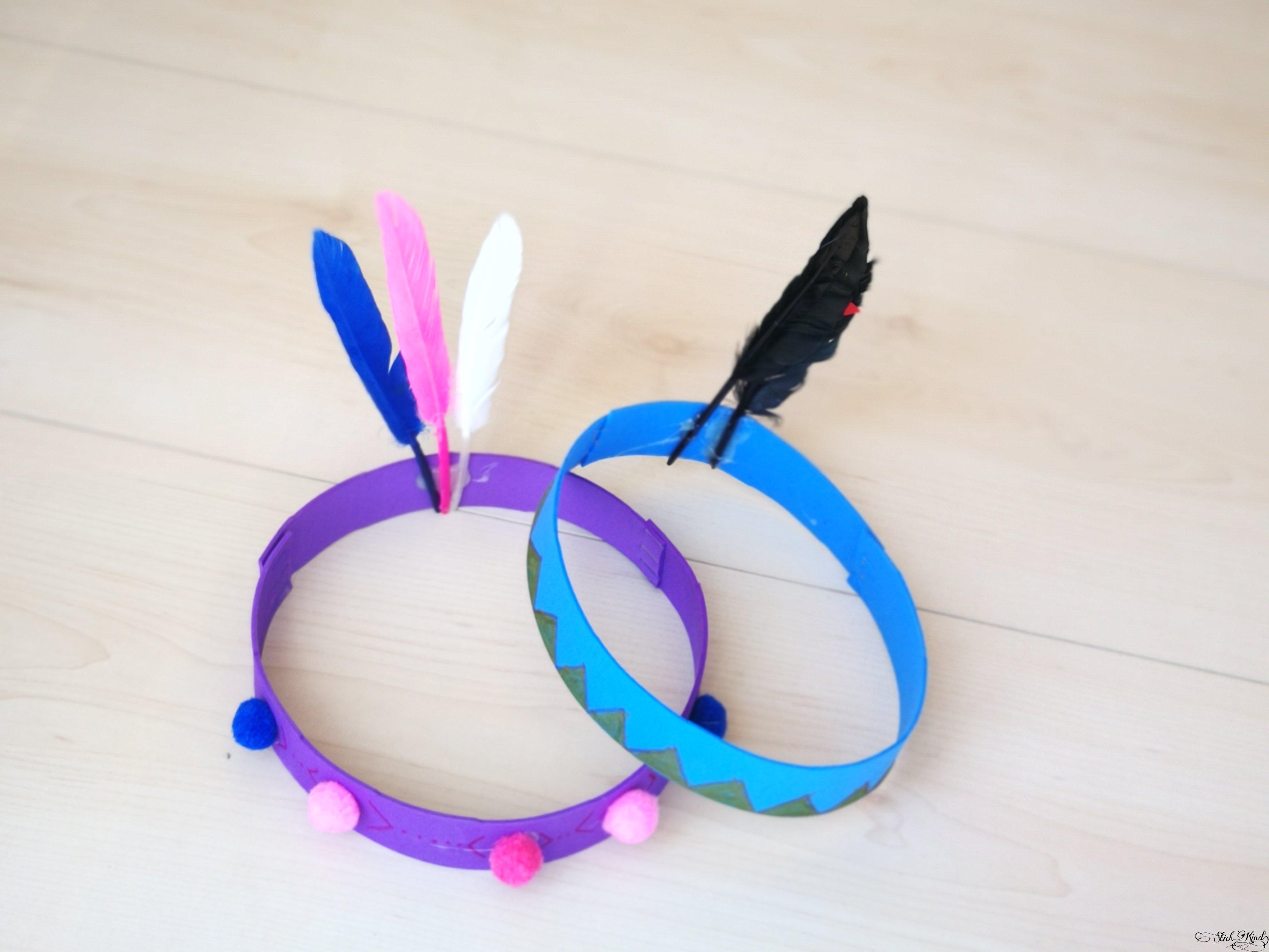 Häuptlingskrone Kopfschmuck Für Kleine Und Große Indianer