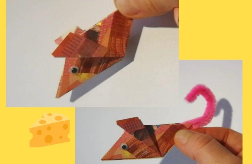 Money Origami – Geldmäuse falten